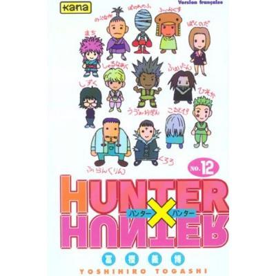 Hunter x hunter tome 12