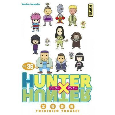 Hunter x hunter tome 36