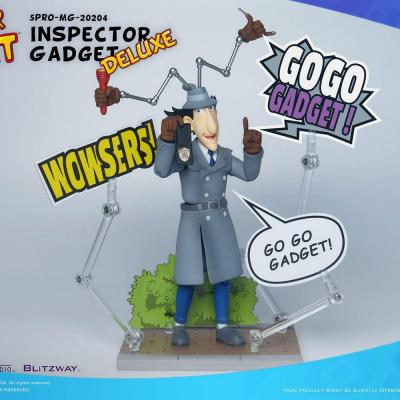 Inspecteur gadget gadget deluxe pack figurines mega hero 17cm