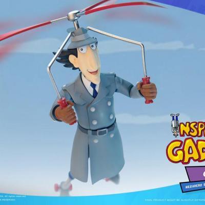 Inspecteur gadget gadget figurine mega hero 17cm