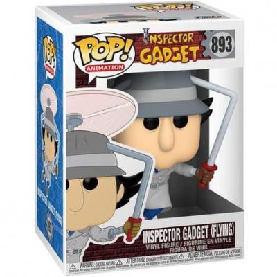 Inspector gadget bobble head pop n 893 inspector gadget flying