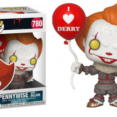 It chapter 2 bobble head pop n 780 pennywise with balloon