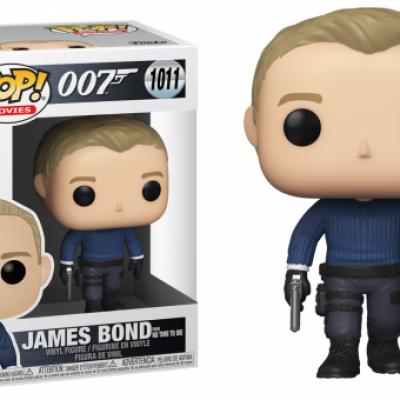 James bond bobble head pop n 1011 james bond no time to die