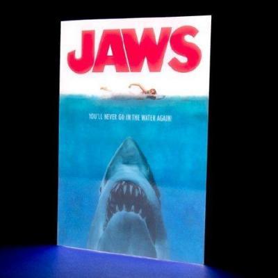Jaws movie poster light 30cm
