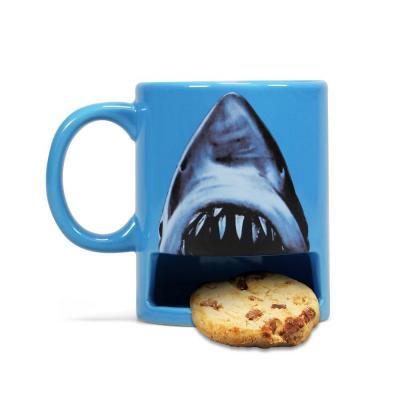 Jaws mug avec espace cookies