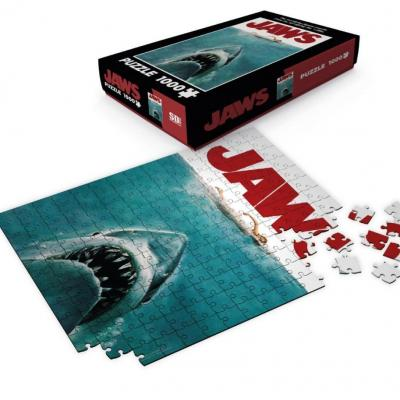 Jaws puzzle 1000p movie poster