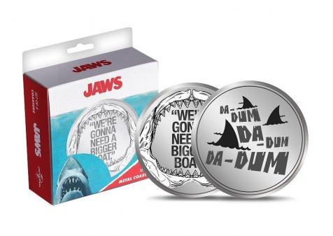 Jaws set de 4 dessous de verres en metal