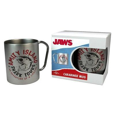 Jaws shark tours mug mousqueton 240ml