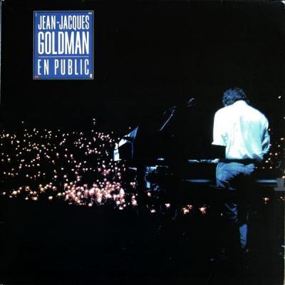 Jean jacques goldman album 33t en public