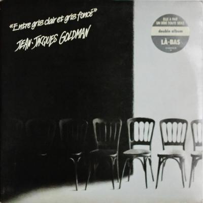 Jean jacques goldman album 33t entre gris clair et gris fonce