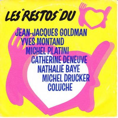 Jean jacques goldman les restos du coeur 45t