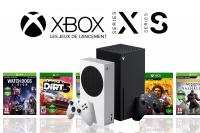 Jeux lancement xbox series x xbox series s