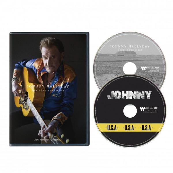 Johnny hallyday son reve americain dvd