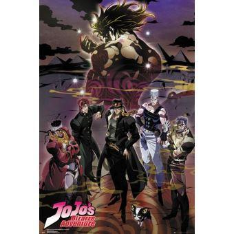 Jojo s bizarre adventure groupe affiche