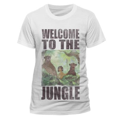 Jungle book t shirt in a tube welcome to the jungle