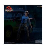 Jurassic park alan grant statuette art scale 19cm 4