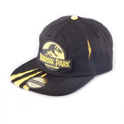 Jurassic park casquette snapback ripped