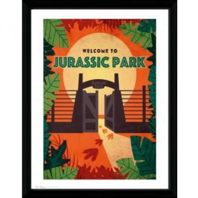 Jurassic park collector print 30x40 welcome