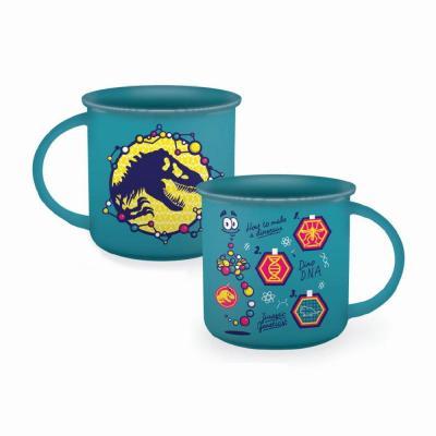 Jurassic park dna mug emaille