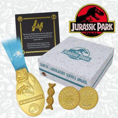 Jurassic park genetics divison box collector premium