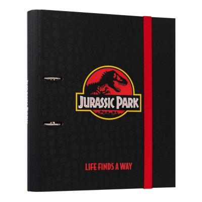 Jurassic park life finds a way classeur 2 anneaux 32x38cm