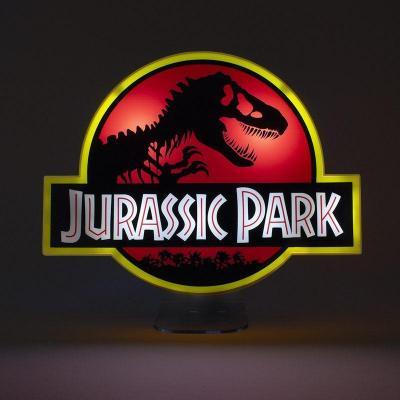Jurassic park logo lampe 22 5cm
