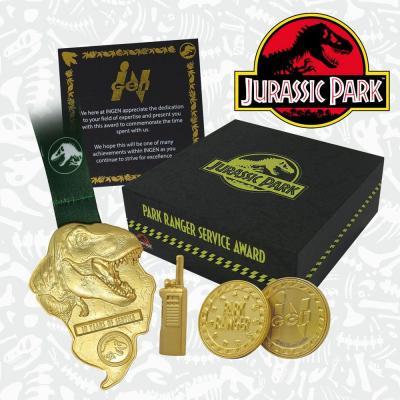 Jurassic park park ranger box collector premium