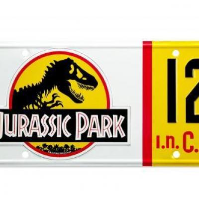Jurassic park plaque mineralogique dennis nedry replique 1 1