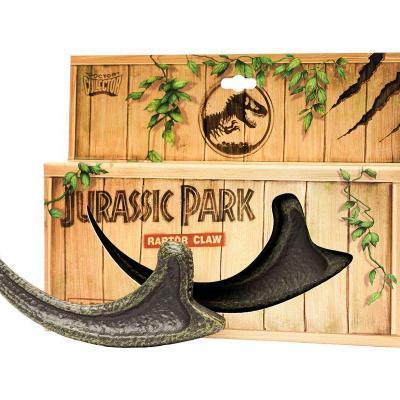 Jurassic park replique griffe de raptor 19x14x2 8cm