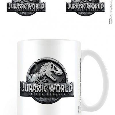 Jurassic world fallen kingdom mug 300 ml logo