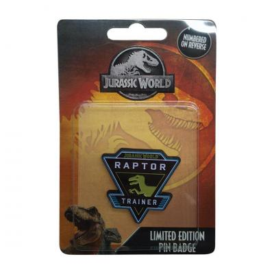 Jurassic world raptor trainer pin s edition limitee