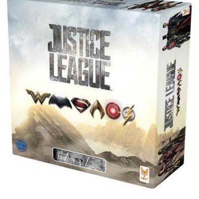 Justice league le jeu de societe