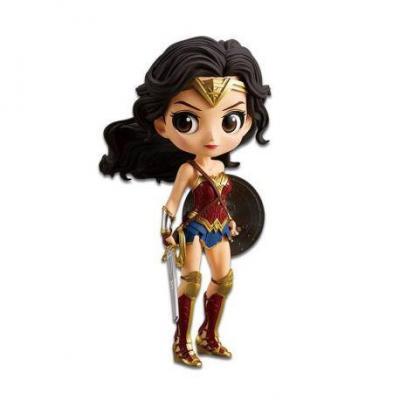 Justice league q posket wonder woman 14cm