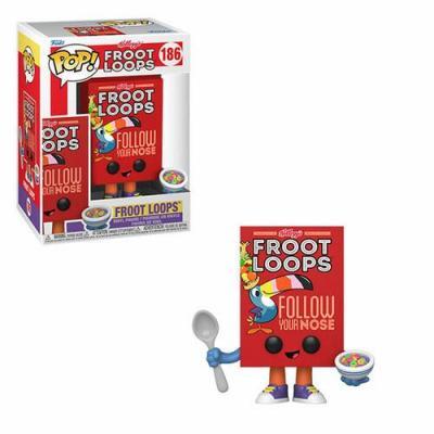 Kelloggs bobble head pop n 186 froot loops