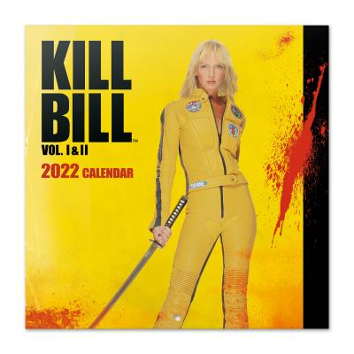 Kill bill calendrier 2022 30x30cm