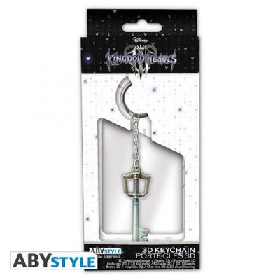 Kingdom hearts porte cles metal 3d keyblade