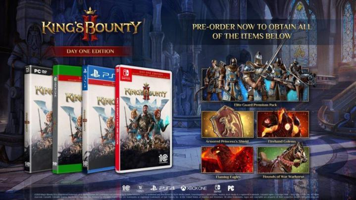 Kings bounty ii pre orders go live as launch date finally nears