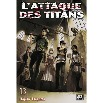 L attaque des titans tome 13