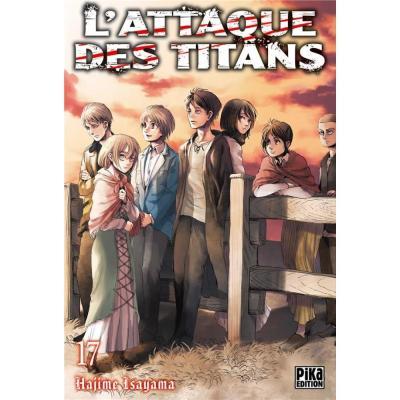 L attaque des titans tome 18