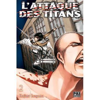 L attaque des titans tome 2