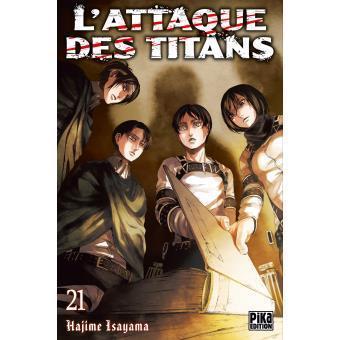 L attaque des titans tome 21