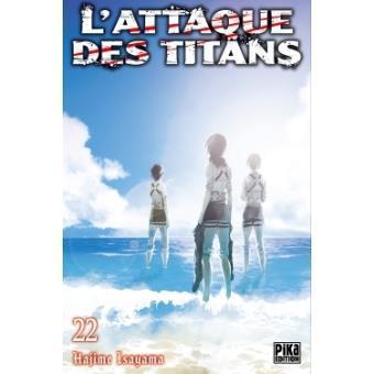 L attaque des titans tome 22