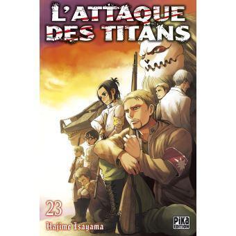 L attaque des titans tome 24