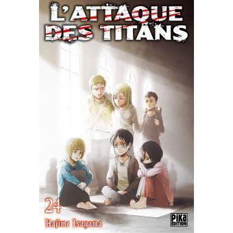 L attaque des titans tome 25