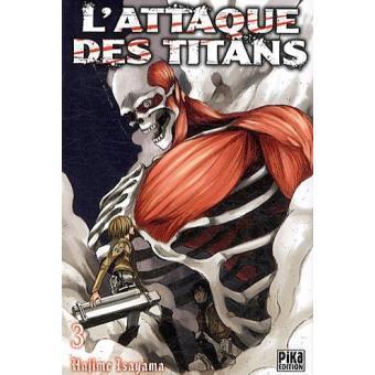 L attaque des titans tome 3