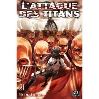 L attaque des titans tome 32