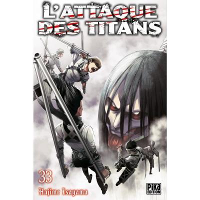 L attaque des titans tome 33