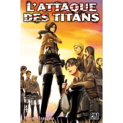 L attaque des titans tome 4