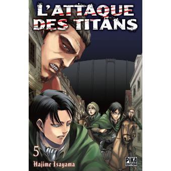 L attaque des titans tome 5