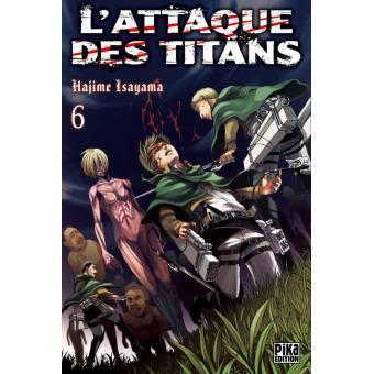 L attaque des titans tome 6